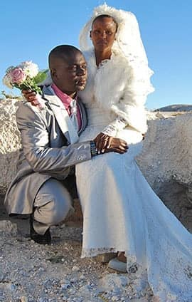 Photography of Black and Boi's Wedding day